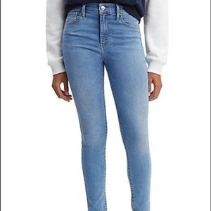 NEW Levi's high waisted 720 super skinny jeans